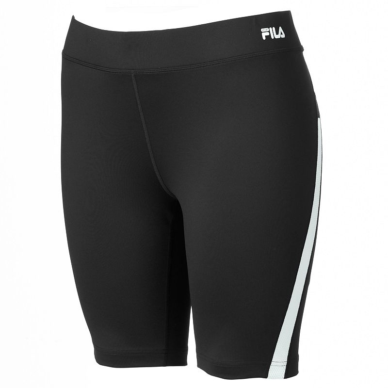 Plus Size FILA SPORT® Strength Fitted Bermuda Workout Shorts