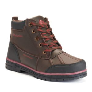 Columbia Wrangle Peak Boy's Waterproof Duck Boots