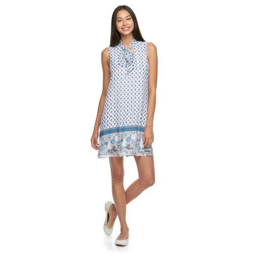 Juniors' Lily Rose Nautical Dress