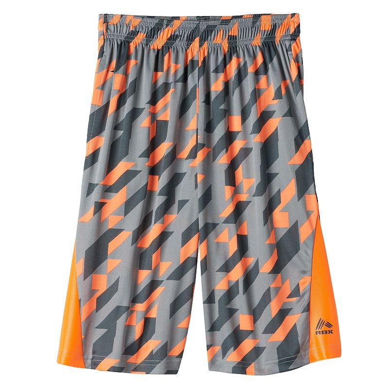 Boys 8-20 RBX Patterned Performance Shorts
