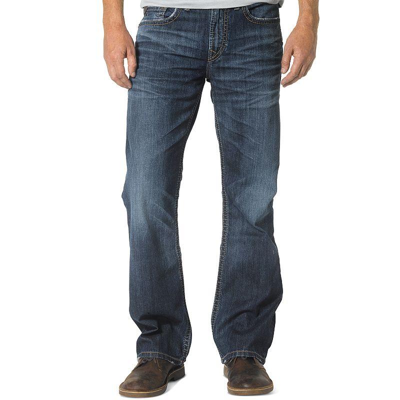 Men's Silver Jeans Craig Bootcut Jeans