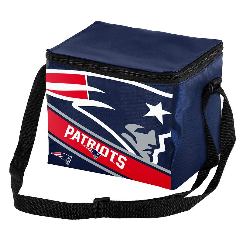 Forever Collectibles New EnglandPatriots Lunch Bag Insulated Cooler