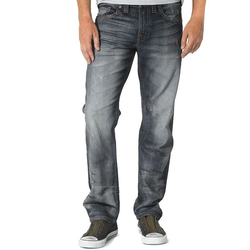 Men's Silver Jeans Eddie Relaxed-Fit Jeans
