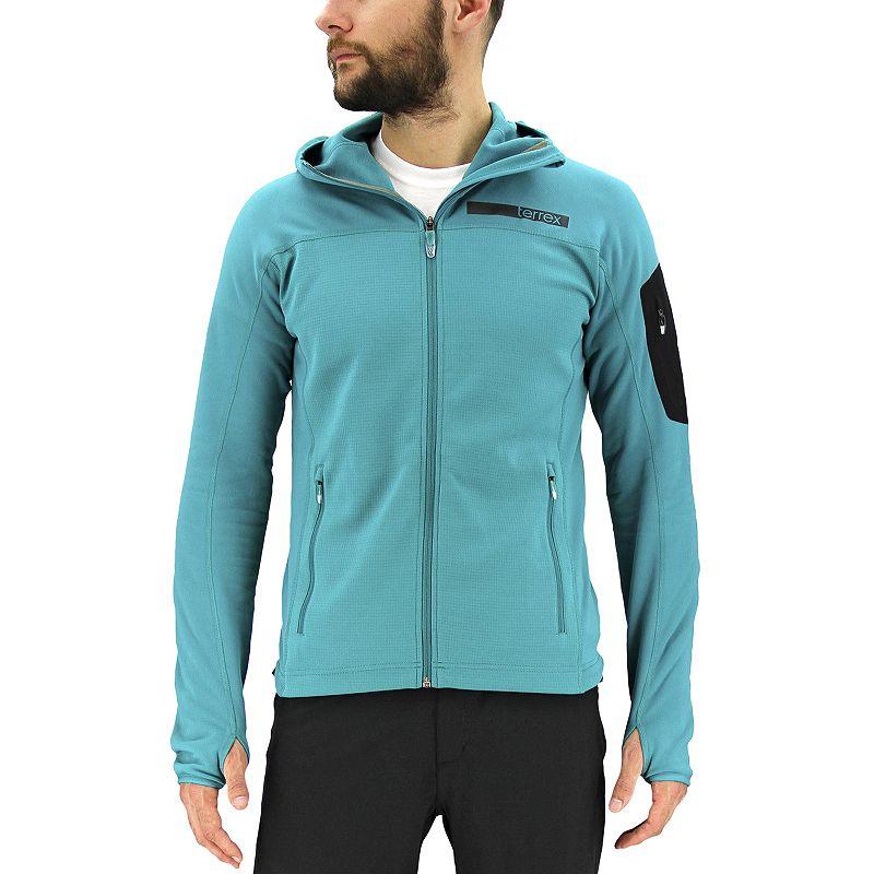 Men's adidas Excel Hooded Performance Fleece Jacket