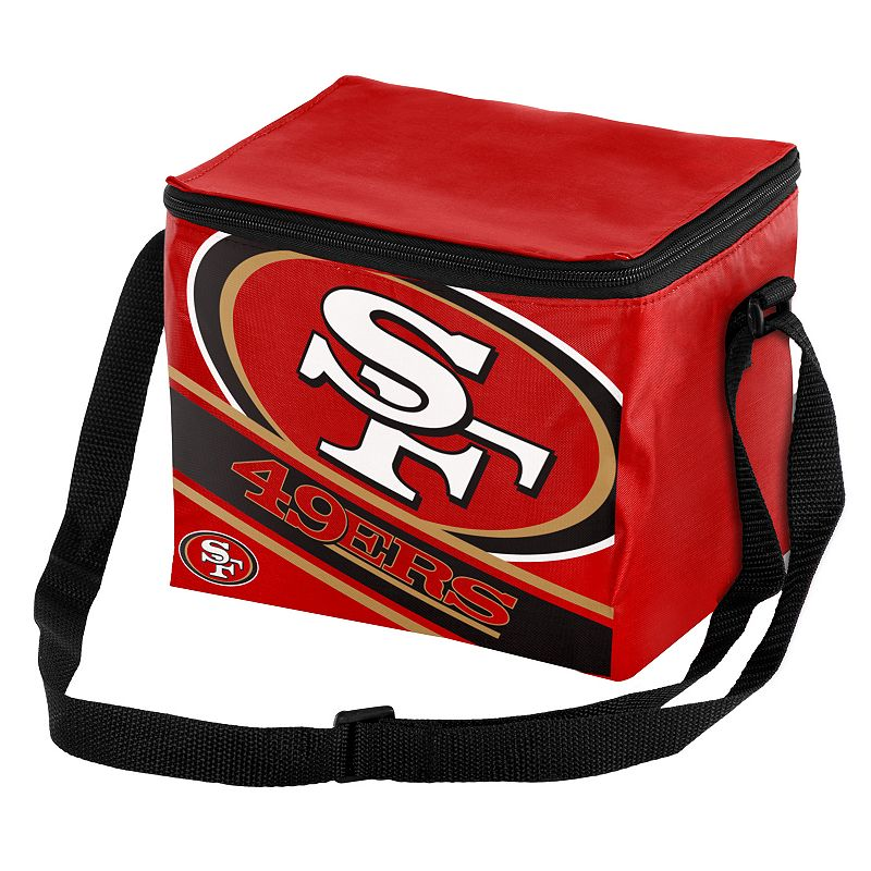 Forever Collectibles San Francisco 49ers Lunch Bag Insulated Cooler