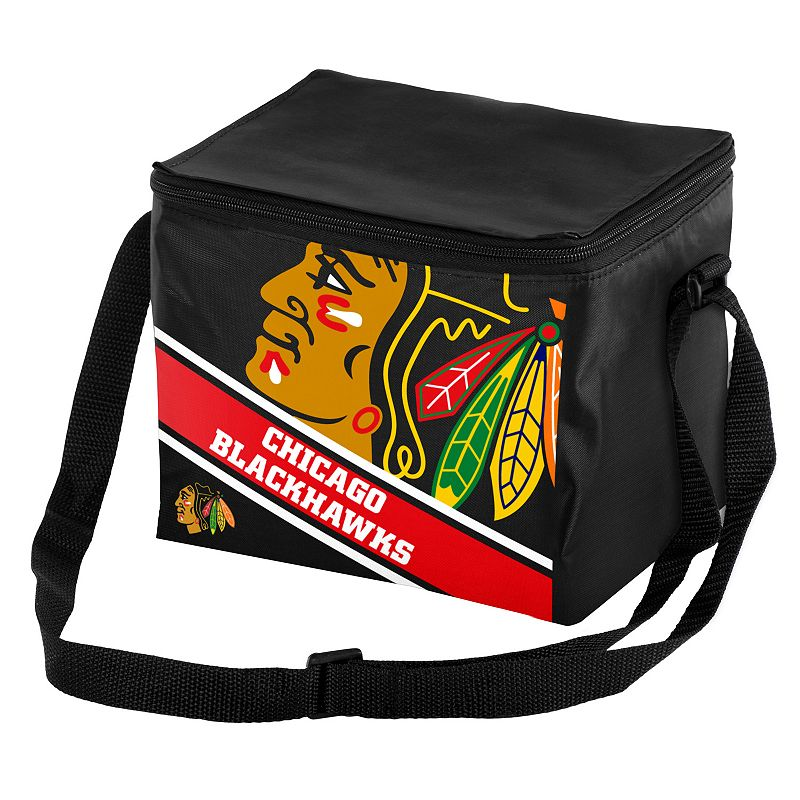 Forever Collectibles Chicago Blackhawks Lunch Bag Insulated Cooler