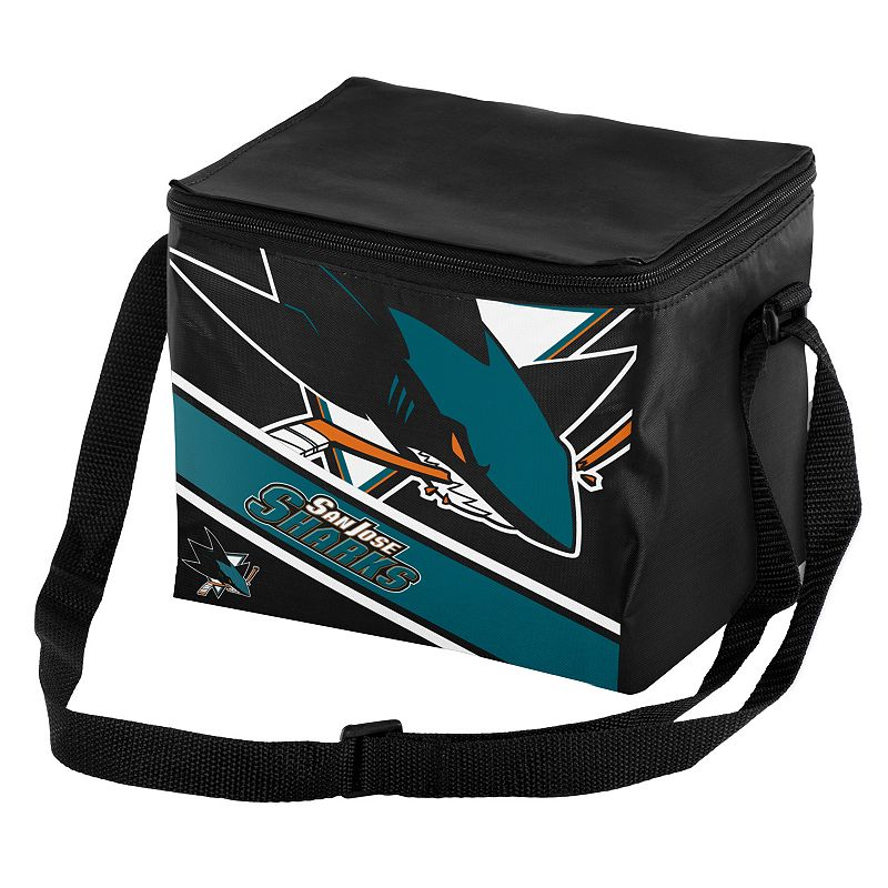 Forever Collectibles San Jose Sharks Lunch Bag Insulated Cooler