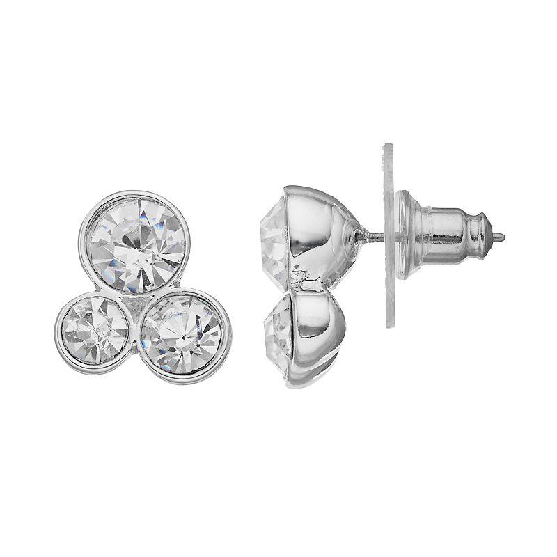 Dana Buchman Circle Cluster Stud Earrings
