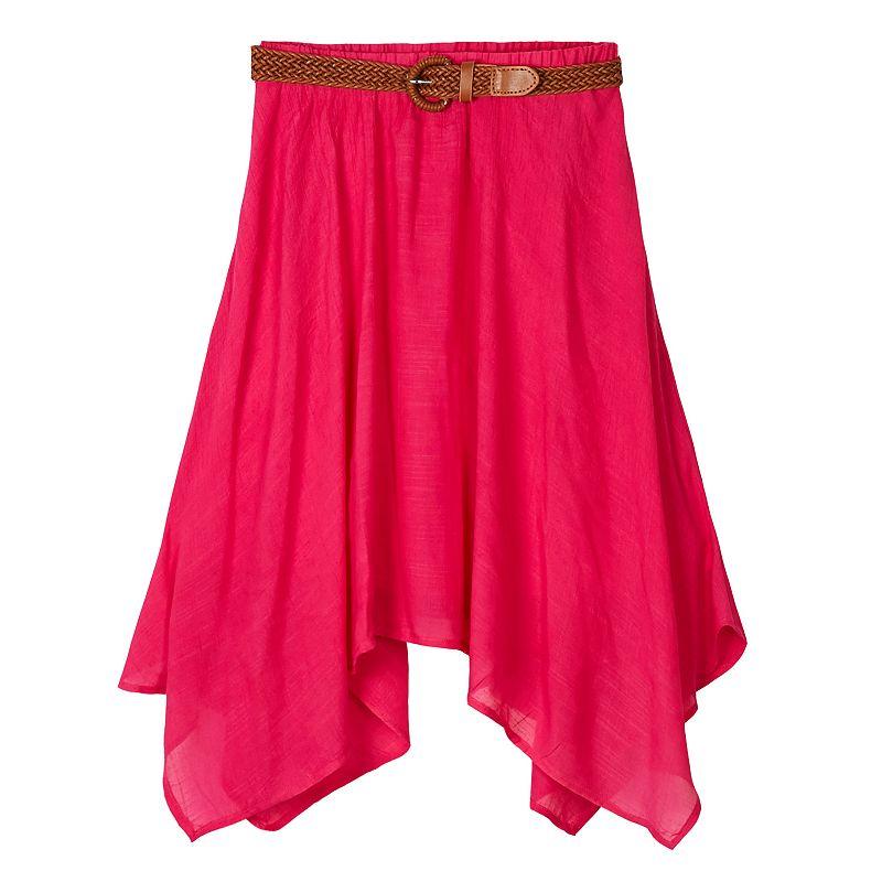 Girls 7-16 IZ Amy Byer Sharkbite Skirt