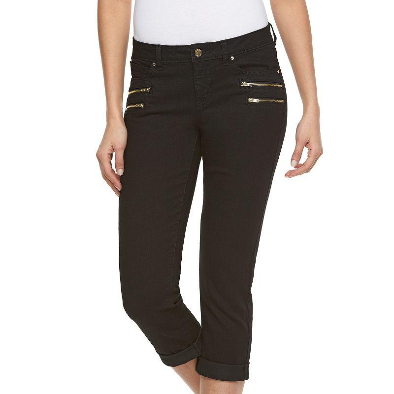 Women's Jennifer Lopez Modern Fit Skinny Capri Jeans