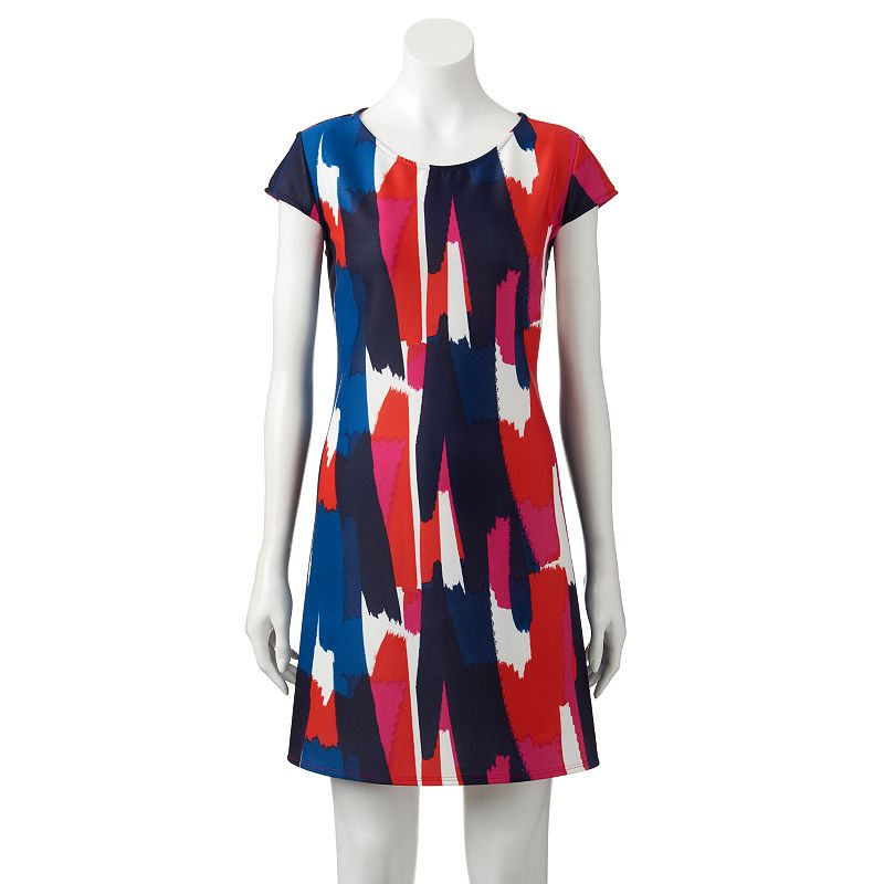 Women's Tiana B Abstract Shift Dress