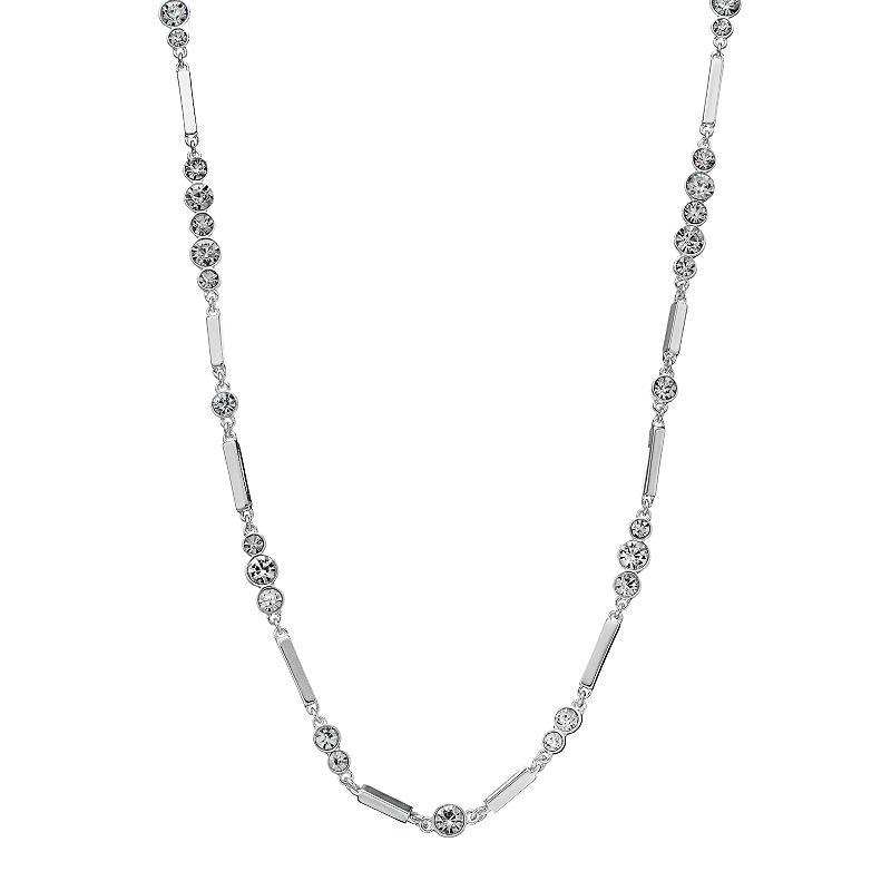 Dana Buchman Long Graduated Bar Link Necklace