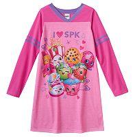Girls 6-12 Shopkins Dorm Nightgown