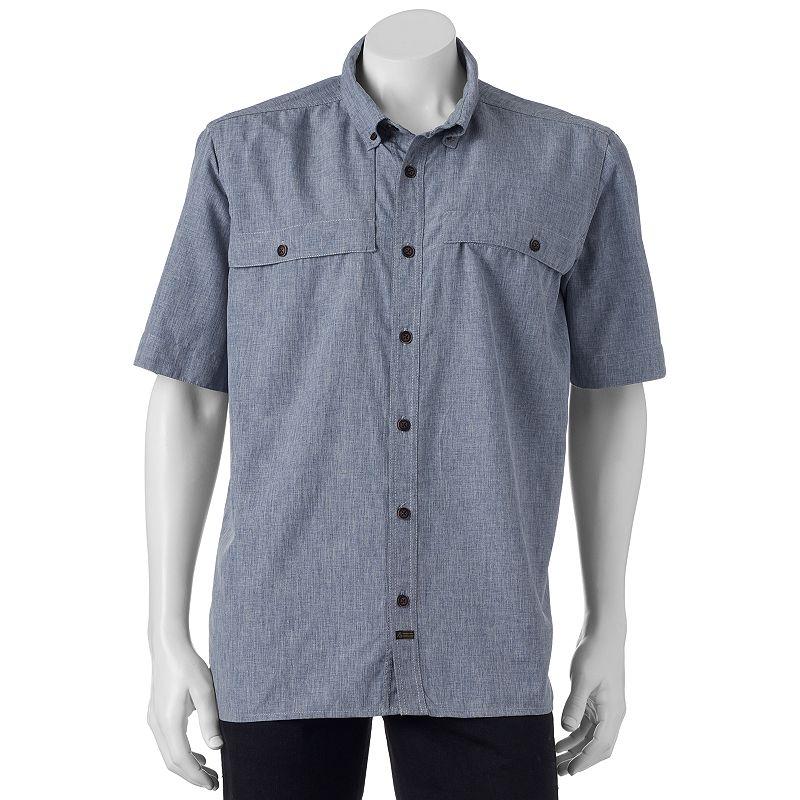 Men's American Outdoors Castmaster Button-Down Fishing Shirt