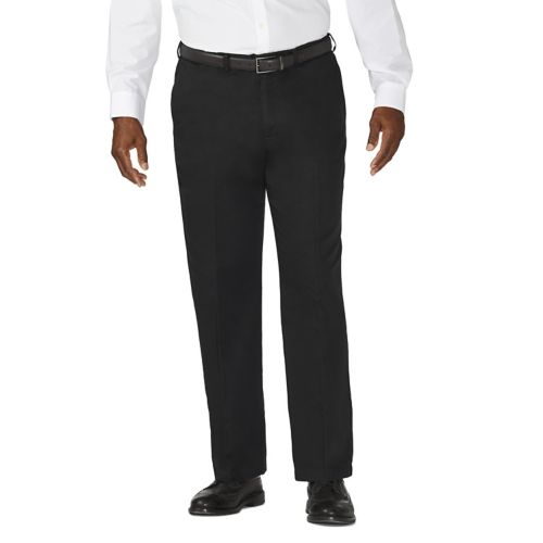 Big & Tall Haggar® Work to Weekend® Flat-Front Expandable Waist Khakis