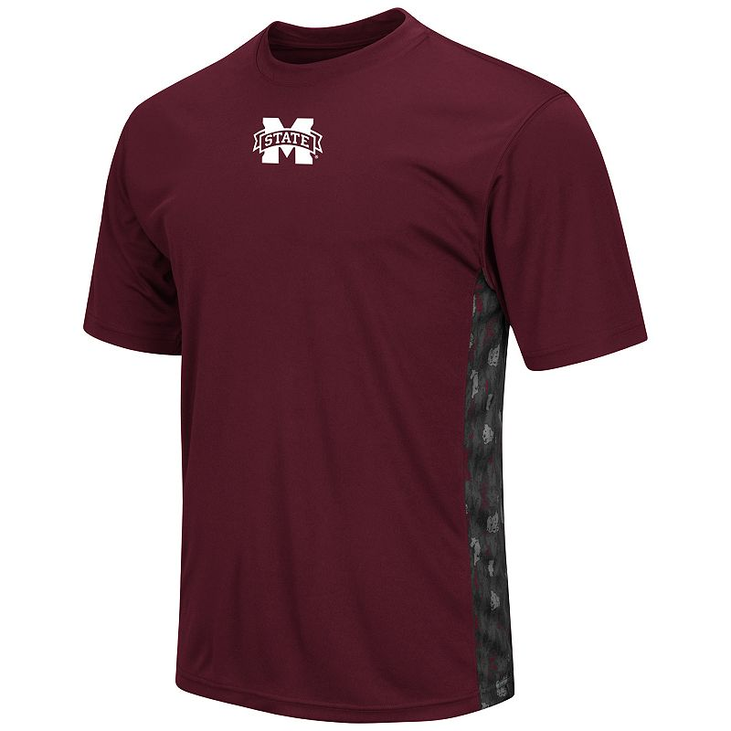 Men's Campus Heritage Mississippi State Bulldogs Cutter Insert Tee