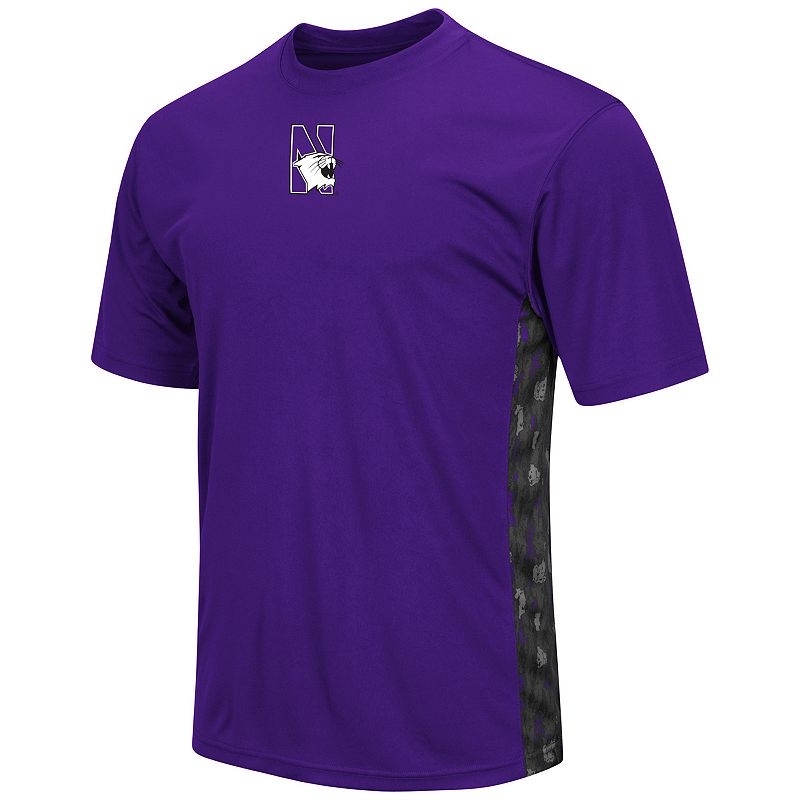 Men's Campus Heritage Northwestern Wildcats Cutter Insert Tee