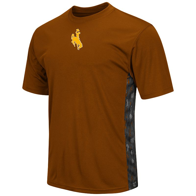 Men's Campus Heritage Wyoming Cowboys Cutter Insert Tee