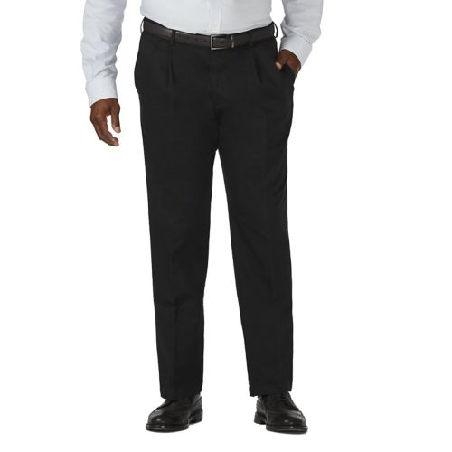 Big & Tall Haggar Work to Weekend Classic-Fit Expandable Waist Pants