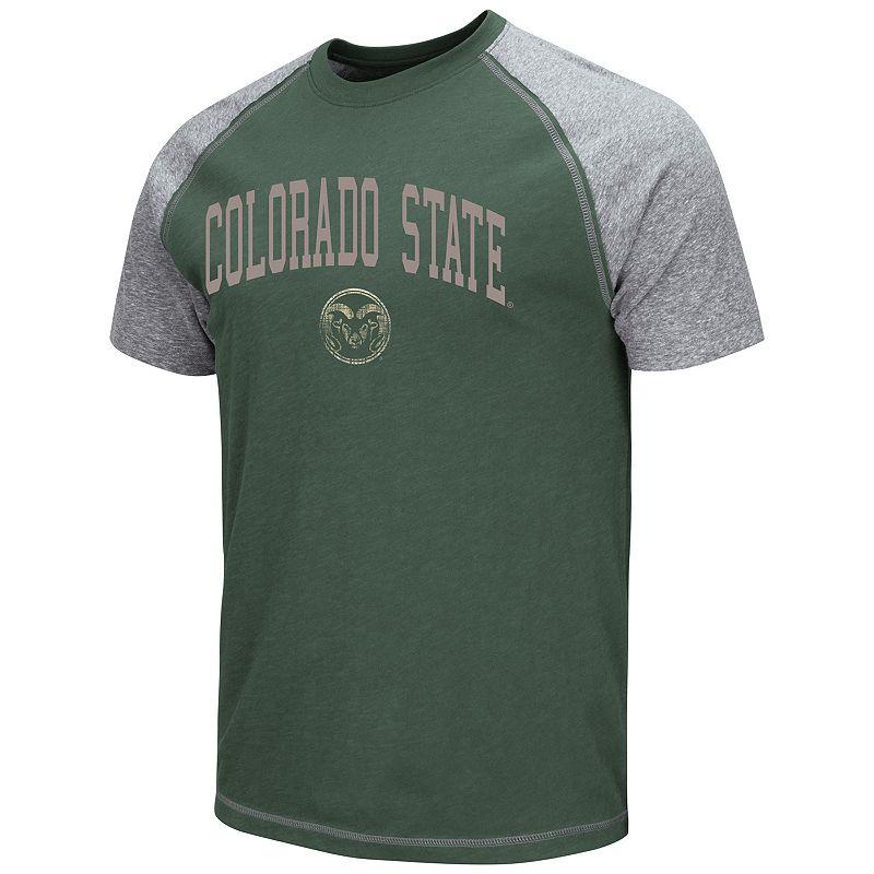 Men's Campus Heritage Colorado State Rams Raglan Tee