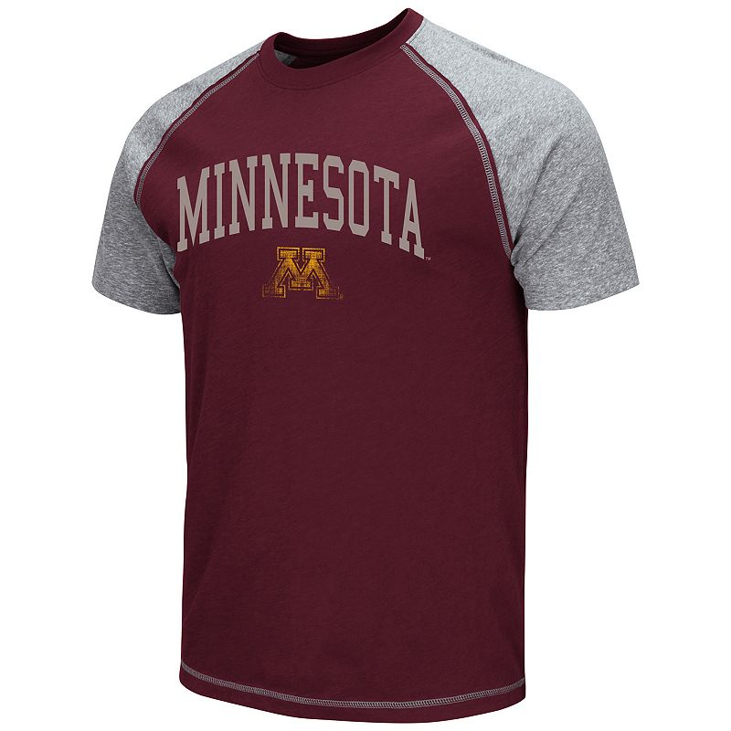 Men's Campus Heritage Minnesota Golden Gophers Raglan Tee