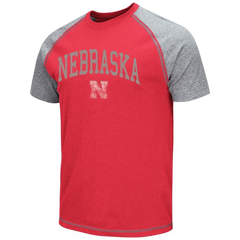 Men's Campus Heritage Nebraska Cornhuskers Raglan Tee
