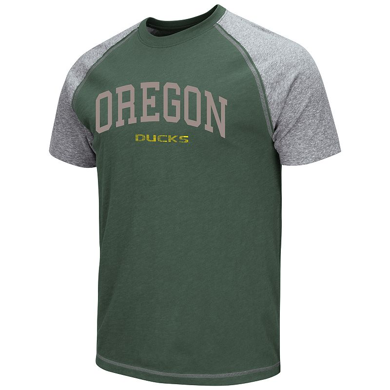 Men's Campus Heritage Oregon Ducks Raglan Tee