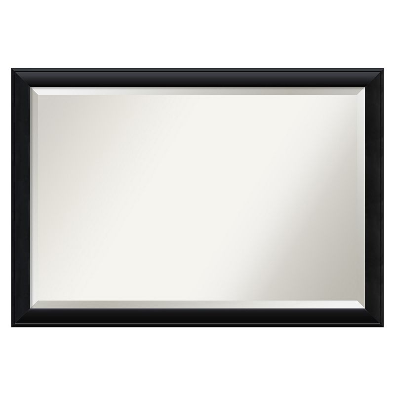 Amanti Art Extra Large Black Framed Wall Mirror