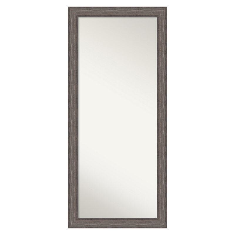 Amanti Art Country Barnwood Framed Floor Mirror