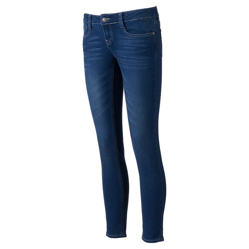 Juniors' Rampage Low Rise Skinny Jeans