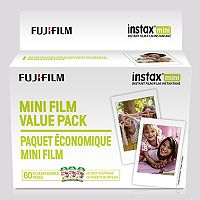 FujiFilm Instax Mini 3-Pack Instant Film (60 Sheets)