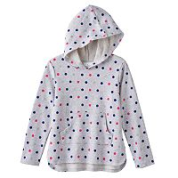 Girls 4-7 Jumping Beans® Printed French Terry Hoodie