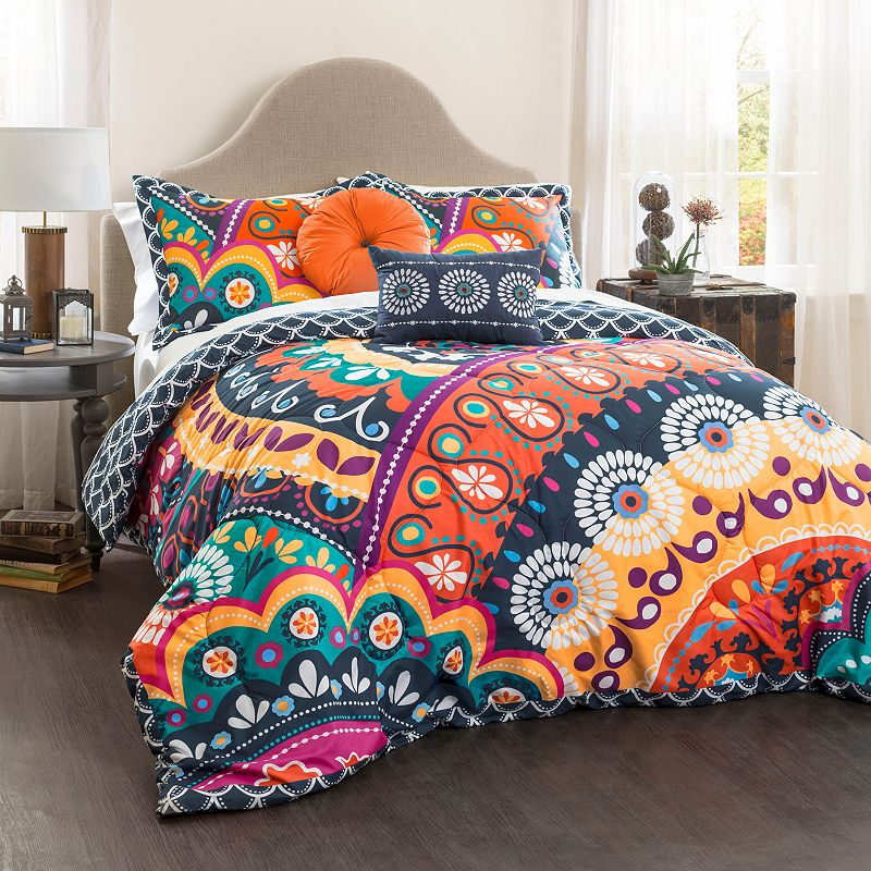 Lush Decor Maya 5-piece Quilted Bed Set