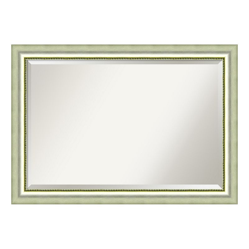 amanti art extra large black framed wall mirror dealtrend. Black Bedroom Furniture Sets. Home Design Ideas