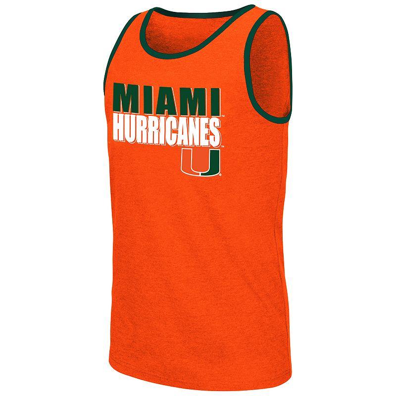 Men's Campus Heritage Miami Hurricanes Freestyle Tank