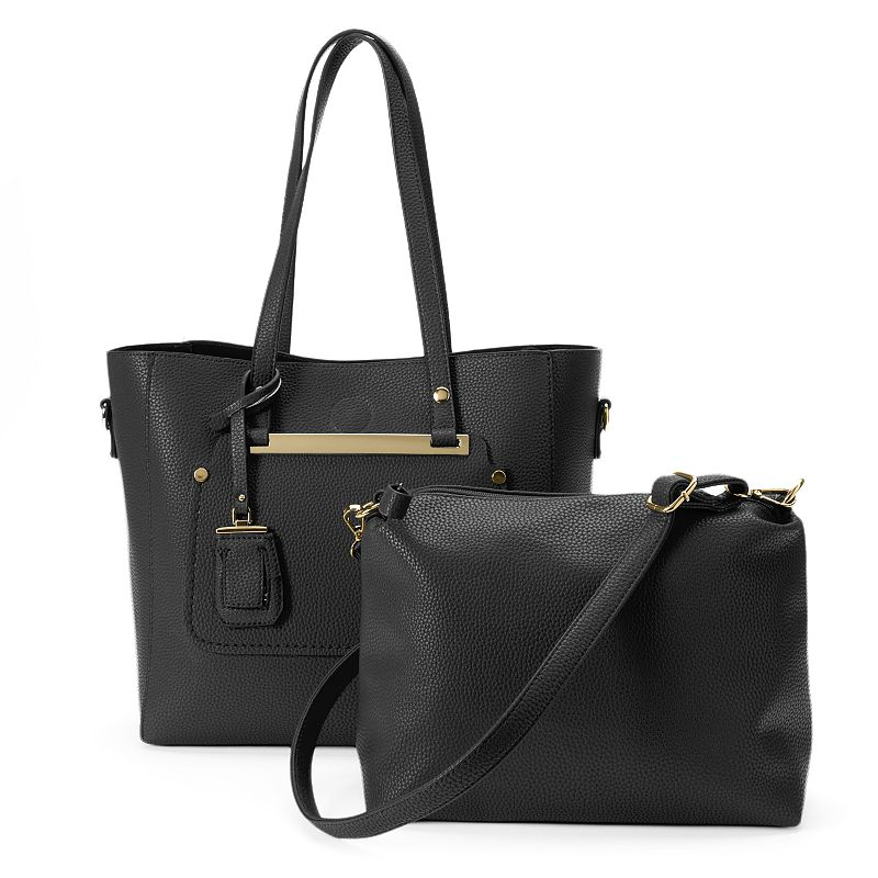 La Diva 2-in-1 Luggage Tag Tote & Bonus Bag