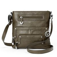 La Diva Zippers Crossbody Bag