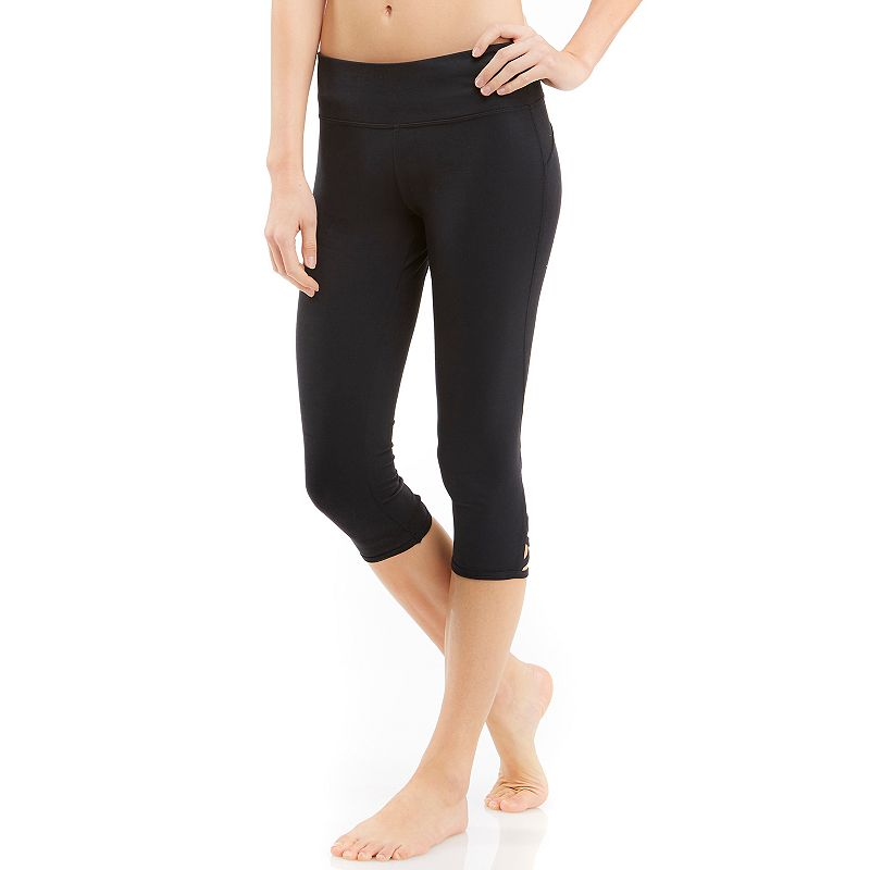 Women's Balance Collection Lace-Up Capri Yoga Leggings