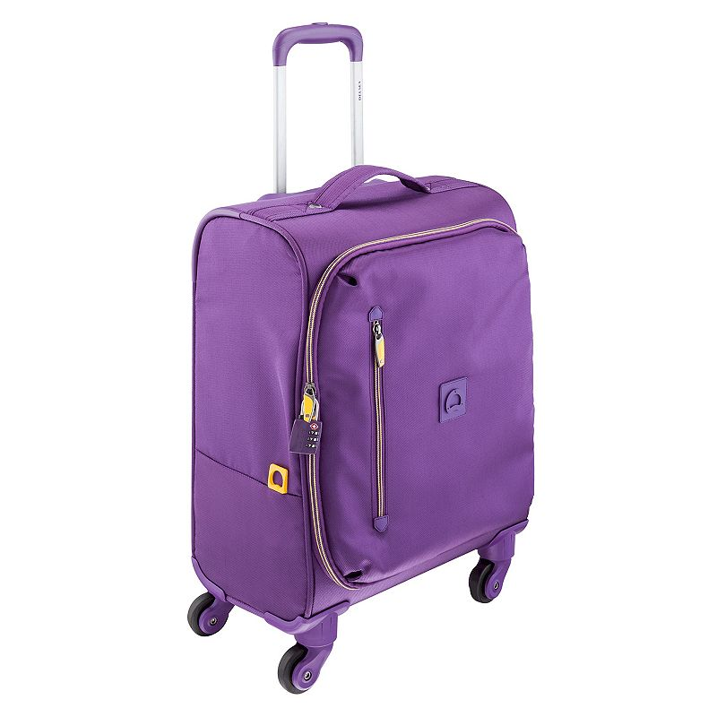 Delsey Solution 18-Inch Trolley Spinner Carry-On Luggage