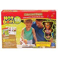 Educational Insights Hot Dots Tots Colors & Shapes Interactive Board Book Set