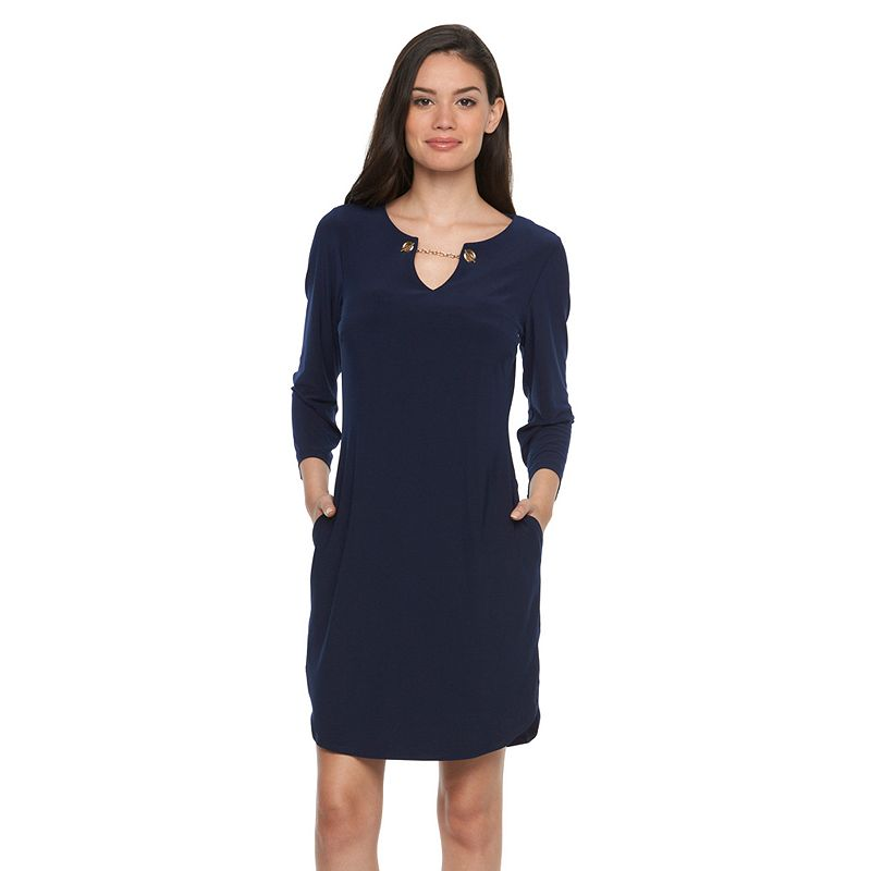 Women's MSK Chain Shift Dress
