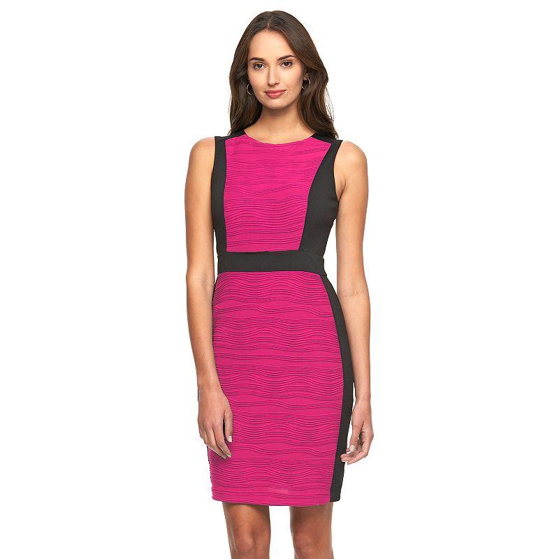 Women's Dana Buchman Colorblock Sheath Dress
