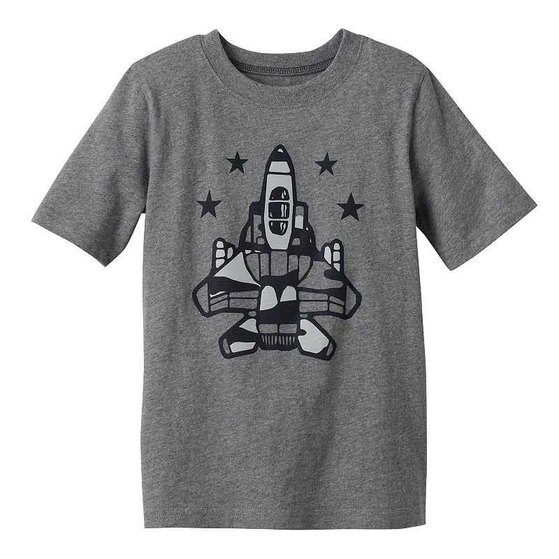 Boys 4-7x Jumping Beans® Jet Graphic Tee