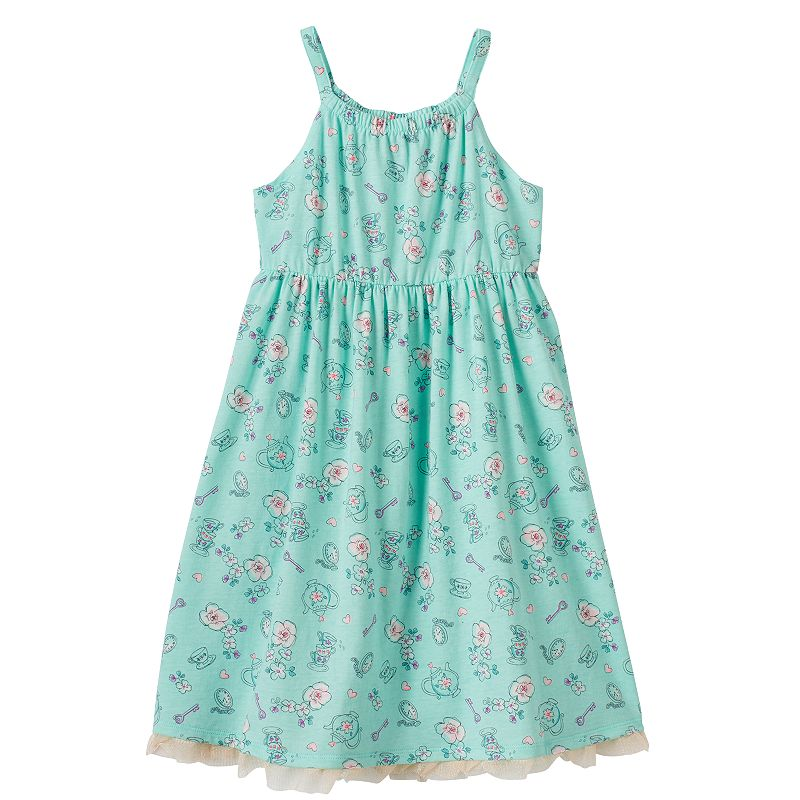 Disney's Alice in Wonderland Girls 4-7 Floral Tulle Dress by Jumping Beans®