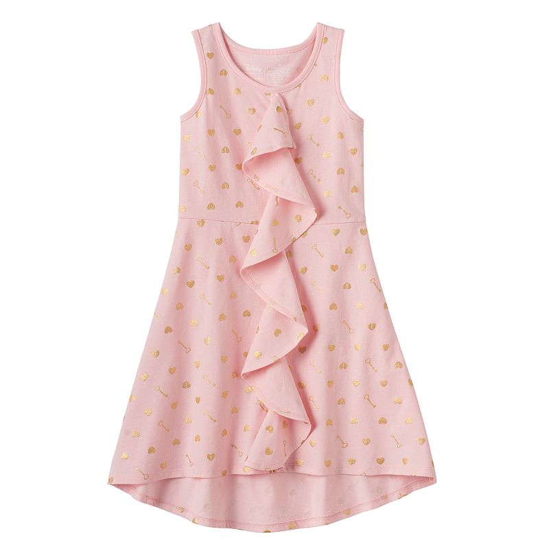 Disney's Alice in Wonderland Girls 4-7 High-Low Ruffle Dress by Jumping Beans®