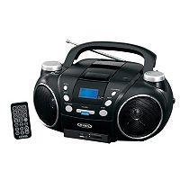 Jensen Portable AM / FM Stereo CD Player