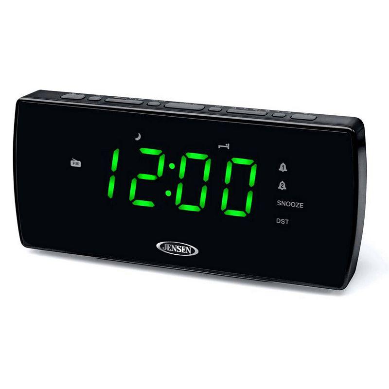 Jensen AM / FM Dual Alarm Clock Radio