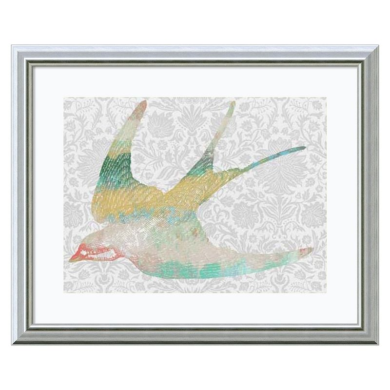 Amanti Art Pattern Bird IV Framed Wall Art
