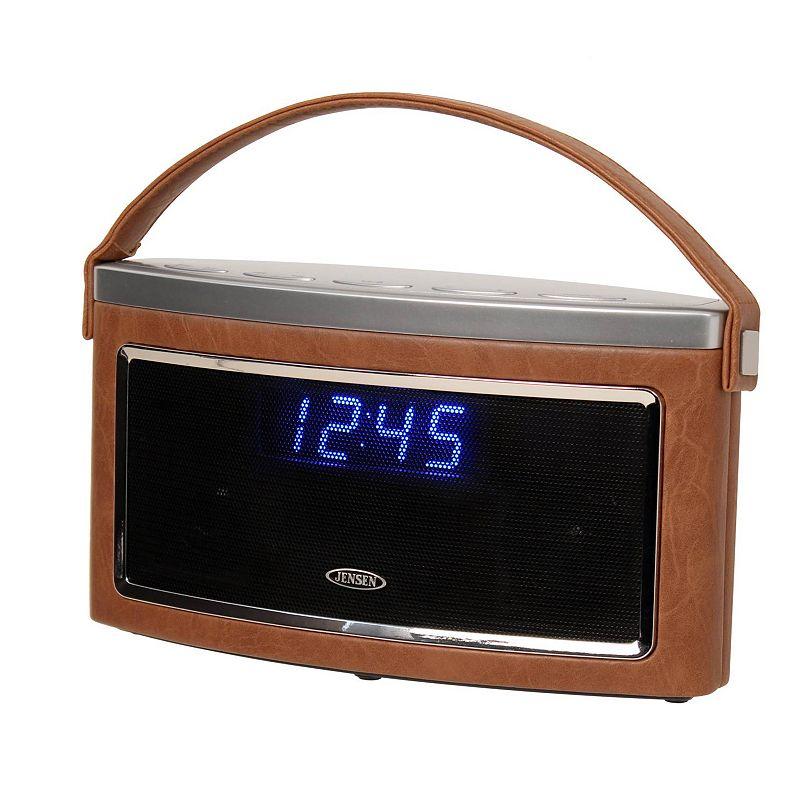 Jensen Bluetooth Wireless Stereo Speaker with FM Radio