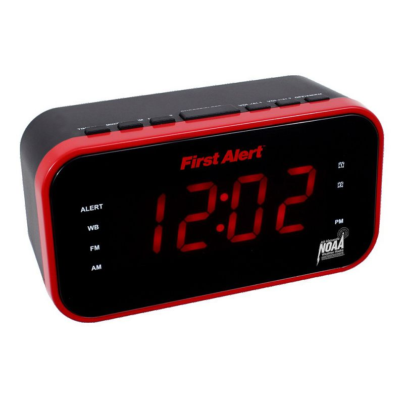 First Alert AM / FM Weather Clock Radio with Alerts